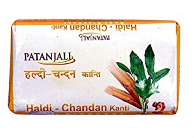 Patanjali Haldi-Chandan Soap(75 g, Pack of 4)