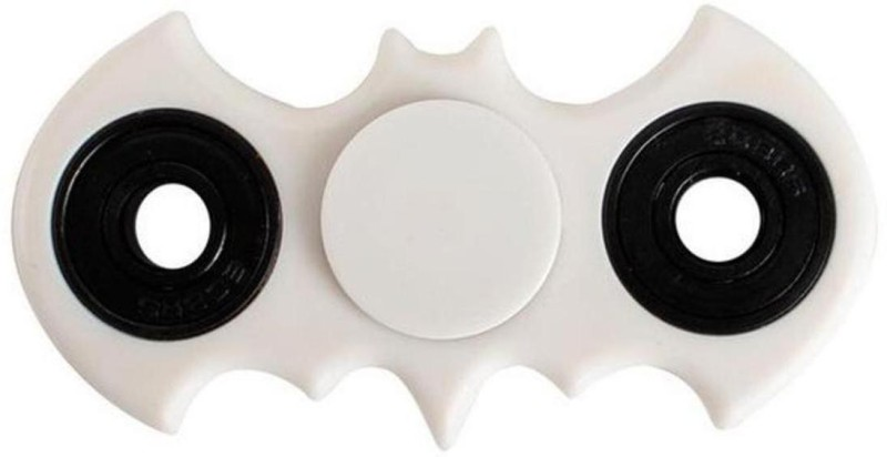 Metro batman fidget spinner(White)