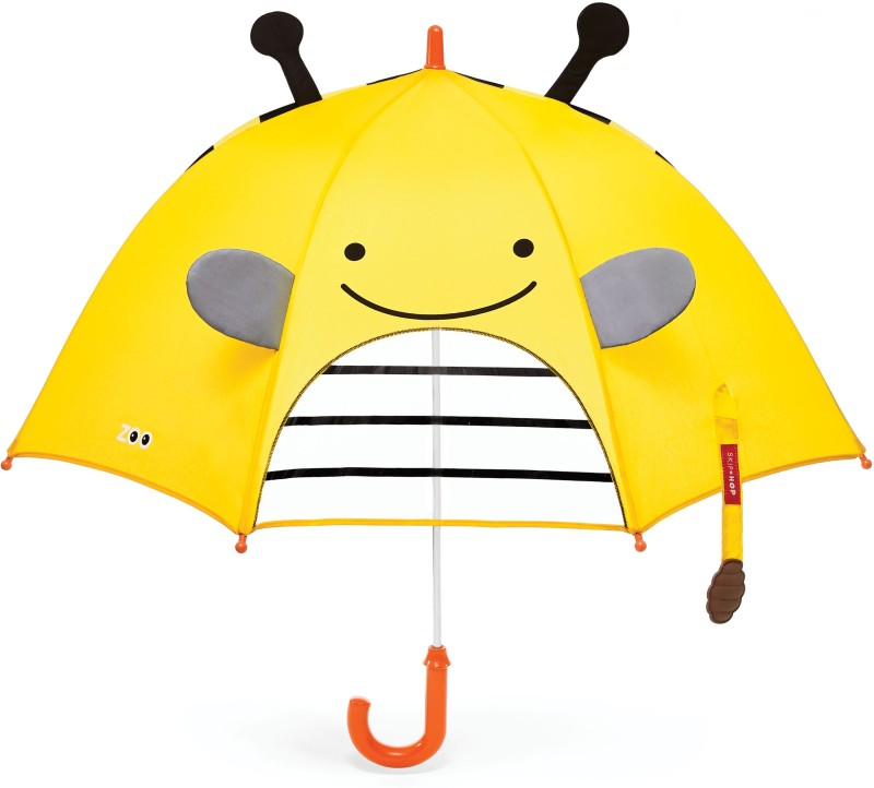 Skip Hop Zoobrella Little Kid Umbrella-Bee Umbrella(Multicolor)