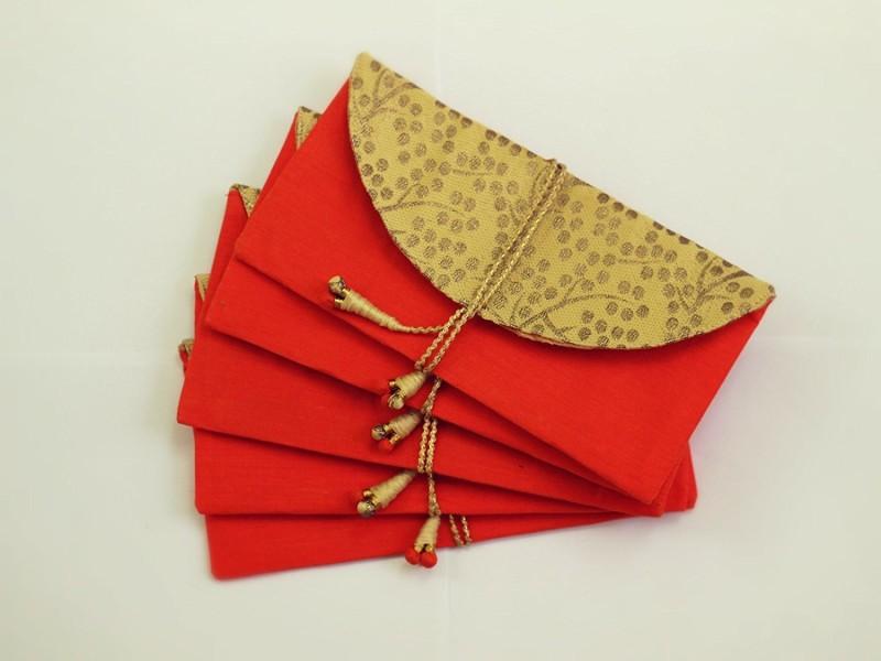 KolorFish Envelopes(Pack of 5 Red)