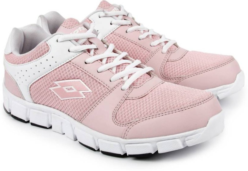 Lotto Sancia Running Shoes(White, Pink)