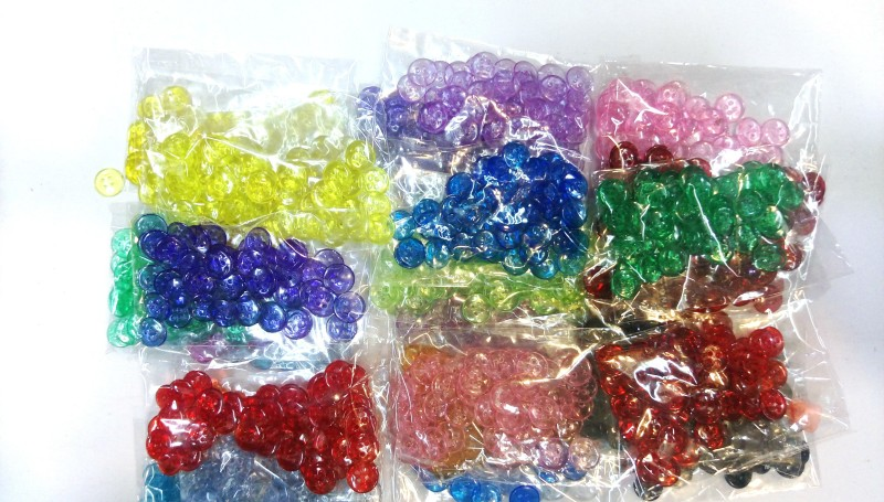 Yashansh Y-A-1017 Polyester Buttons(Pack of 1440)