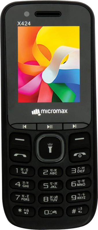 Micromax X424(Black & Grey) image