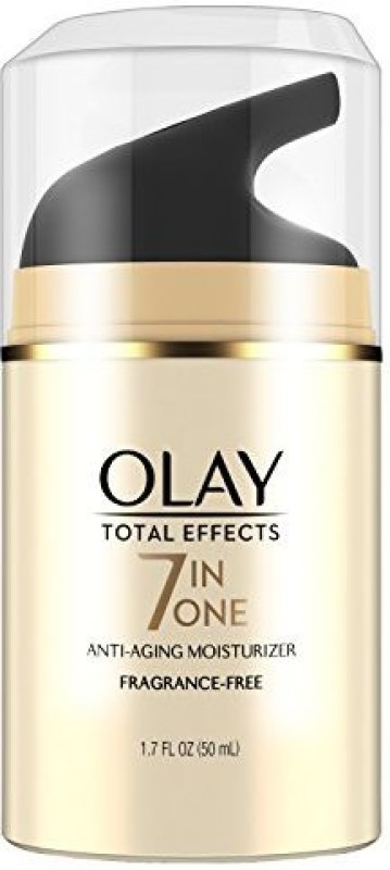 Olay Total Effects Anti-aging Fragrance Free Moisturizer, Packaging May Vary(50 ml)