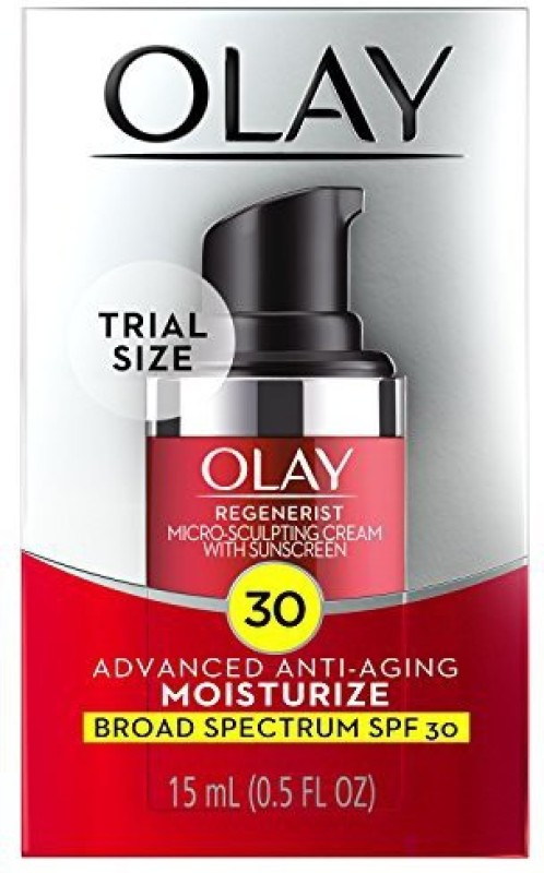 Olay Regenerist Micro-sculpting Cream Face Moisturizer With Spf 30, Trial Size(15 ml)