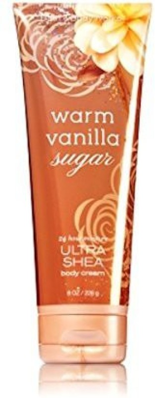 Bath & Body Works Warm Vanilla Sugar Ultra Shea 24 hr Moisture Body Cream(226 g)