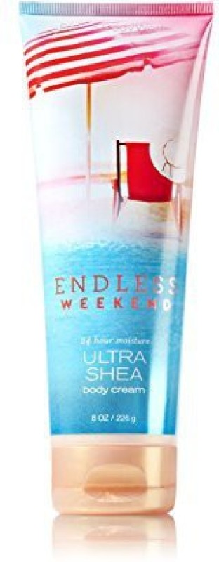 Bath & Body Works Endless Weekend Ultra Shea Body Cream(226 g)