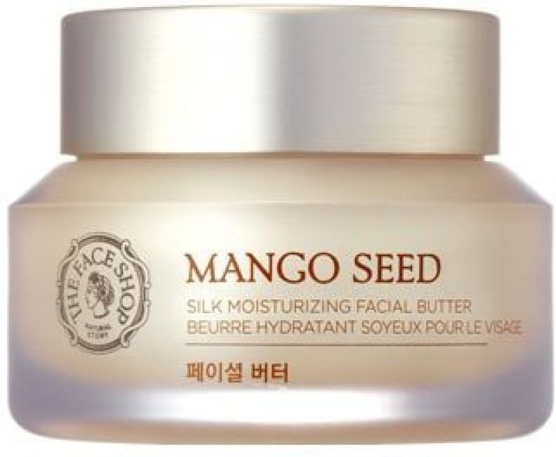 The Face Shop Mango Seed Silk Moisturizing Facial Butter(50 ml)