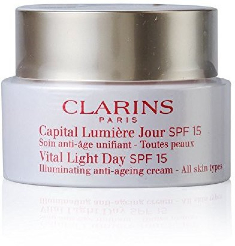 Clarins Vital Light Day Illuminating Anti-ageing Cream Spf 15(50 ml)