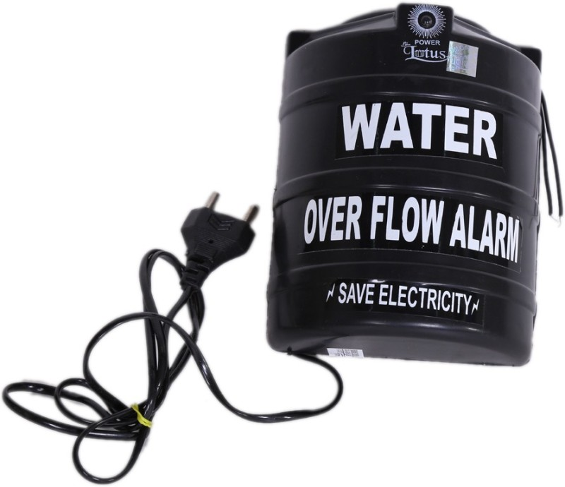 Blue Lotus Water OverFlow Alarm Black Wired Sensor Security System