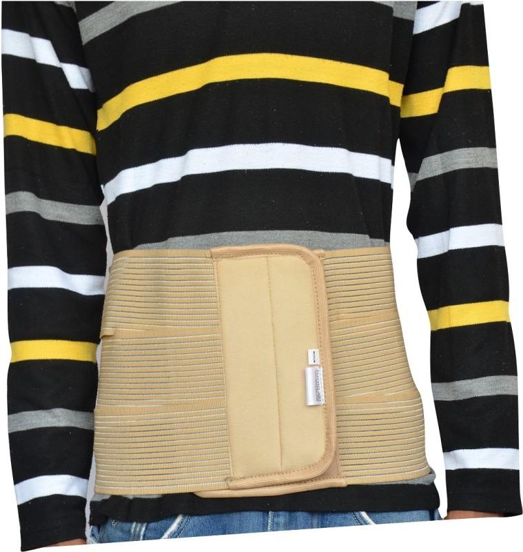 Physio Aid abdominal binder Waist Support (S, Beige)