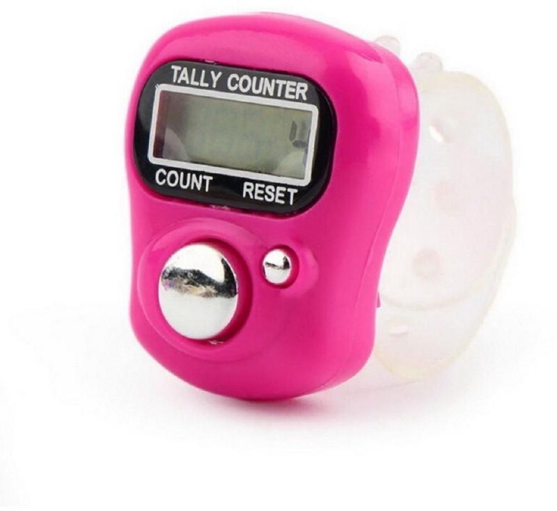 Epyz Hand Finger Tally Counter Digital Electronic Counter Digital Tally Counter(Pink Pack of 1)