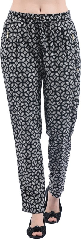 Pepe Jeans Regular Fit Womens Black Trousers
