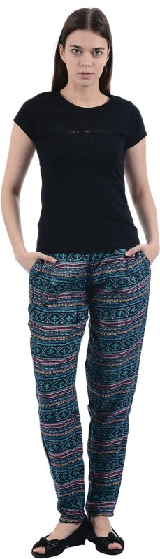 Pepe Jeans Regular Fit Womens Multicolor Trousers