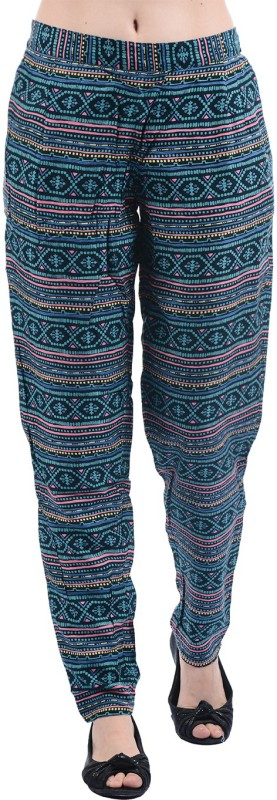 Pepe Jeans Regular Fit Women Multicolor Trousers