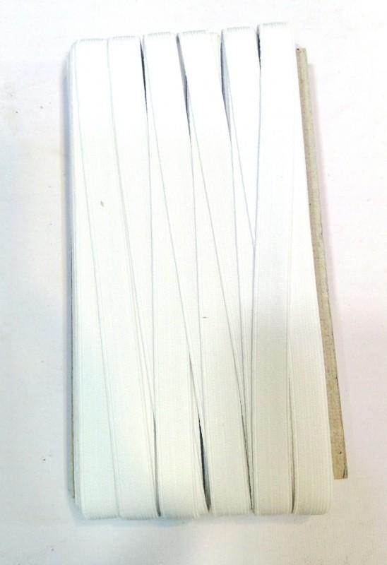 Yashansh Woven White Elastic(25 m)