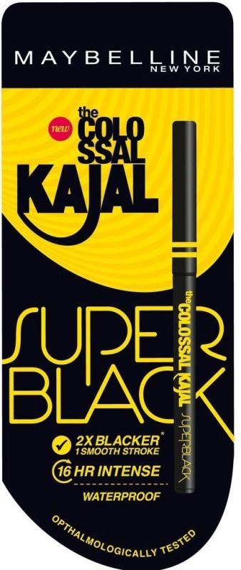 Maybelline Colossal Kajal 0.35 g(Super Black) Colossal Kajal