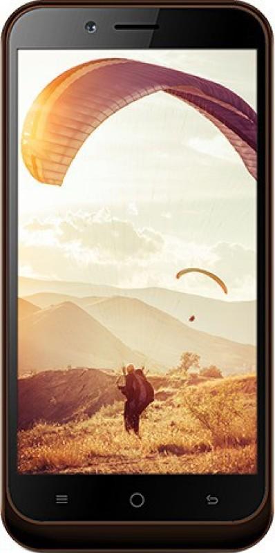 Karbonn Aura 4G (Coffee & Champagne, 8 GB)(1 GB RAM) image