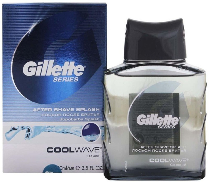Gillette Cool Wave After Shave Splash(100 ml)