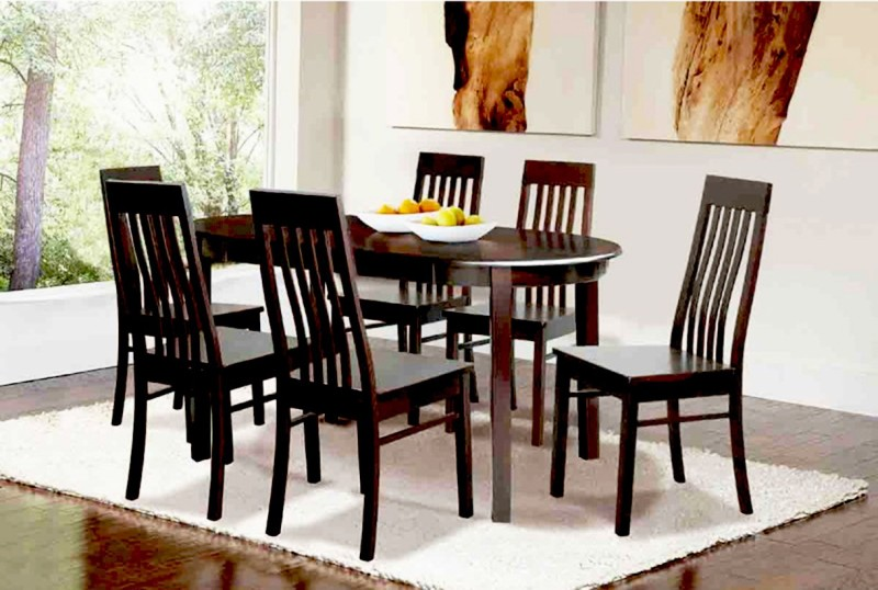 9fda87ed6 Buy FurnCulture Umbria Solid Wood 6 Seater Dining Set(Finish Color - Brown)  Online at Low Prices in India   FurnCulture Umbria Solid Wood 6 Seater  Dining ...