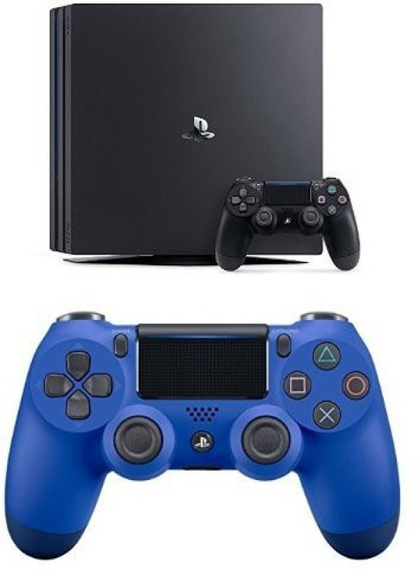 Sony Sony PS4 Pro 1Tb + Extra Wave Blue Controller 1000 GB(Black)