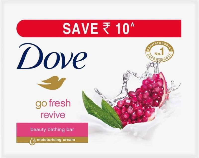 Dove Go Fresh Revive Beauty Bathing Bar(300 g, Pack of 3)