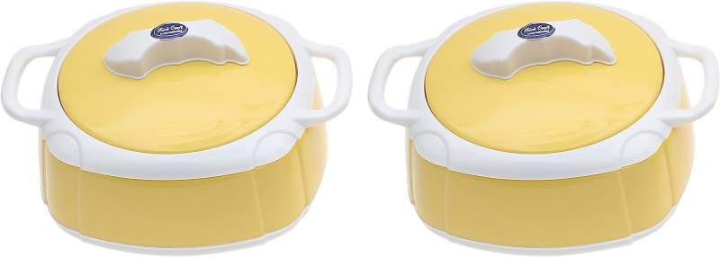 Rich Craft International Pearl Insulated Pack of 2 Casserole Set(1000 ml)