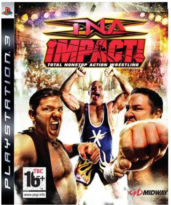 TNA ImpactTotal Nonstop Actionwrestling for PS3