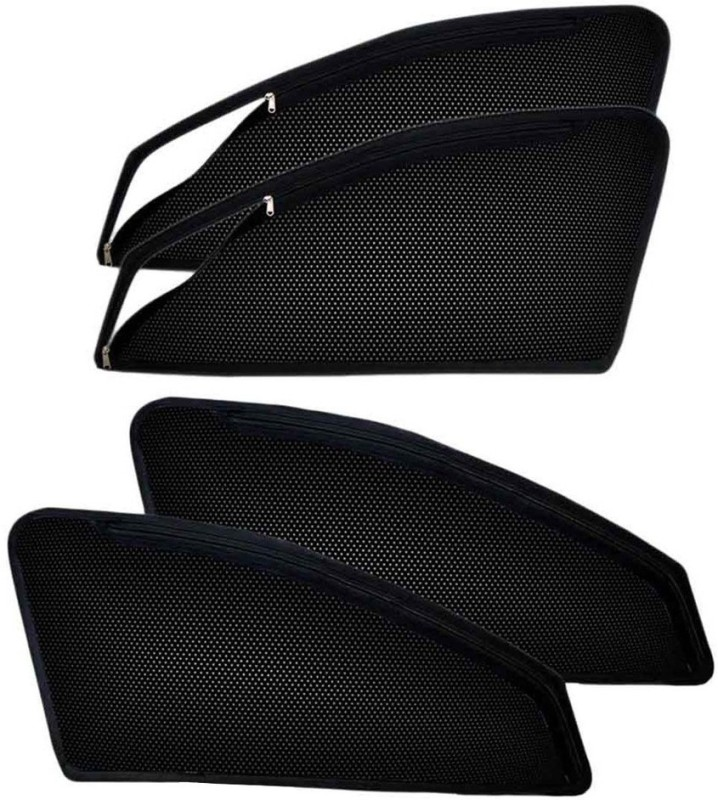 Accedre Side Window Sun Shade For Hyundai Accent(Black)