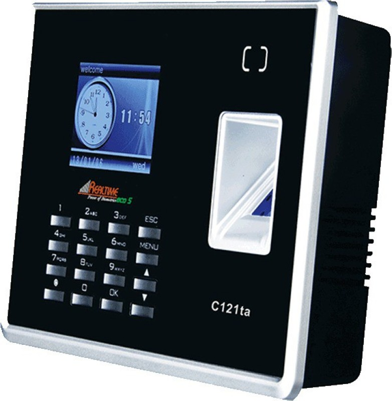 Realtime C121 TA with Battery Time & Attendance, Access Control(Fingerprint, Card, Password)