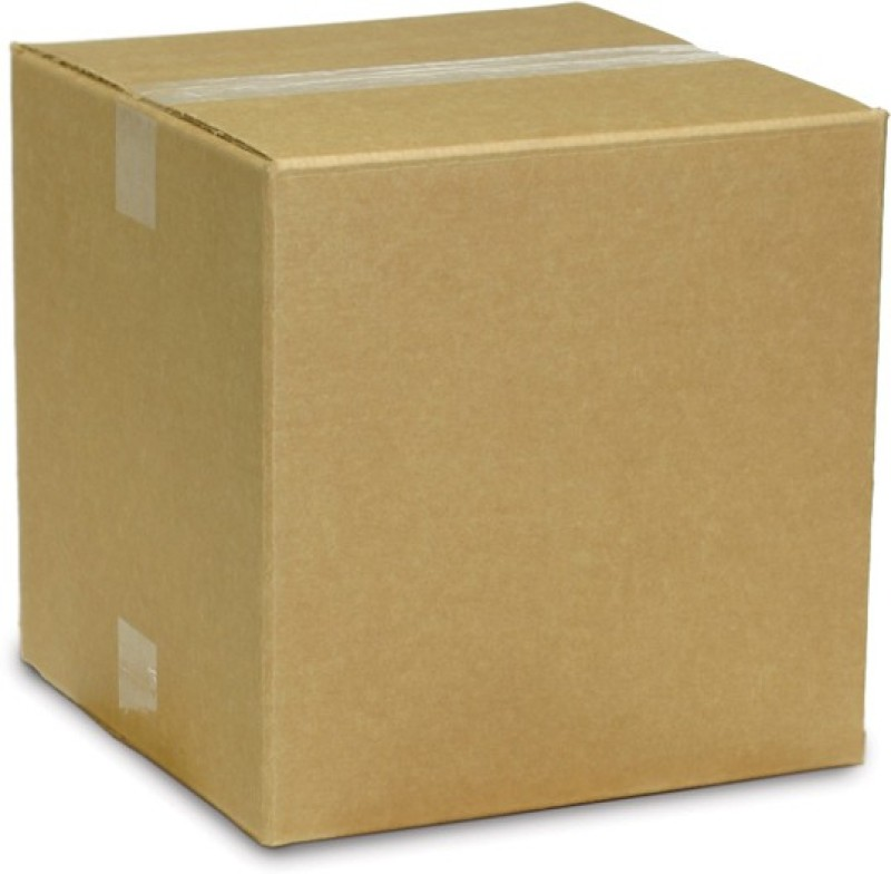 Gupta Packaging Inds Corrugated Paper Brown Corrugated Carton Box(8.0x8.0x4.0 Inch-3 Ply=140/100/140) Packaging Box(Pack of 20 Brown)