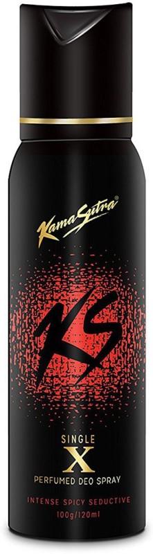 KamaSutra Single X Deodorant Spray - For Men(120 ml)