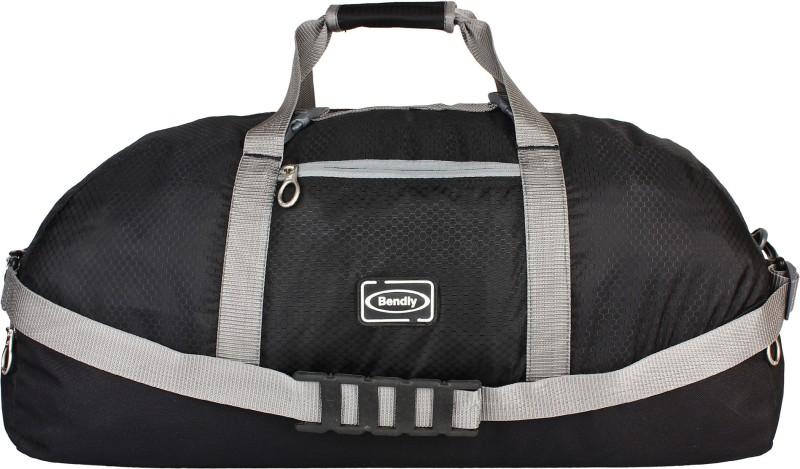 Bendly Feather light Para bag Travel Duffel Bag(Black)