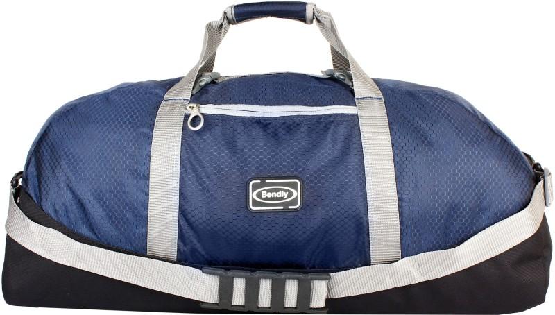 Bendly Feather light Para bag Travel Duffel Bag(Blue)