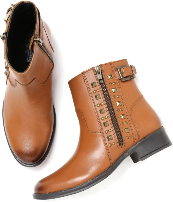 Roadster Boots For Women(Tan)