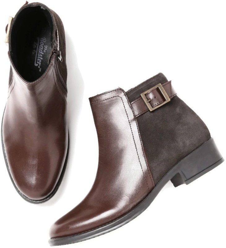 Roadster Boots For Women(Brown)