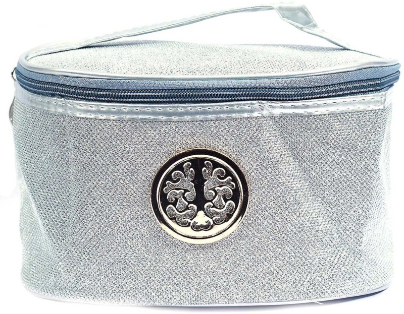Color Fever Cosmetic Pouch(Silver)
