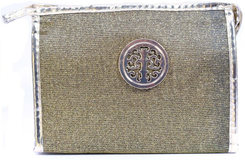 Color Fever Cosmetic Pouch(Gold)