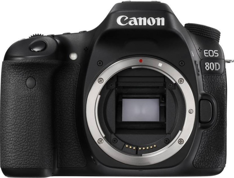Canon EOS 80D(W) DSLR Camera (Body Only) (16 GB SD Card)(Black) image