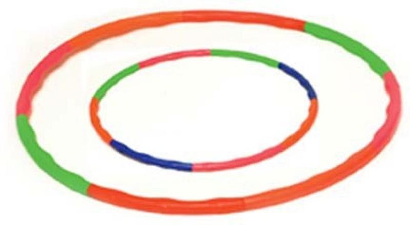 Vixen Speed Hoops Foldabale Hula Hoop(Diameter - 80 cm)