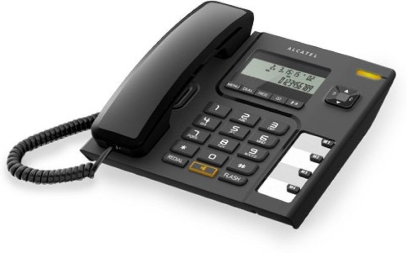 Alcatel T-56 Corded Landline Phone(Black)