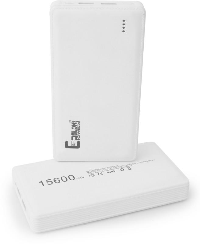 Epsilon Powerbank CLASS/EP-15LC 15600 mAh Power Bank(White, Lithium-ion)