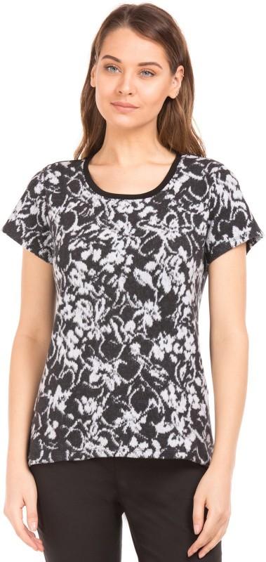 Arrow Woman Women Solid Casual Black Shirt