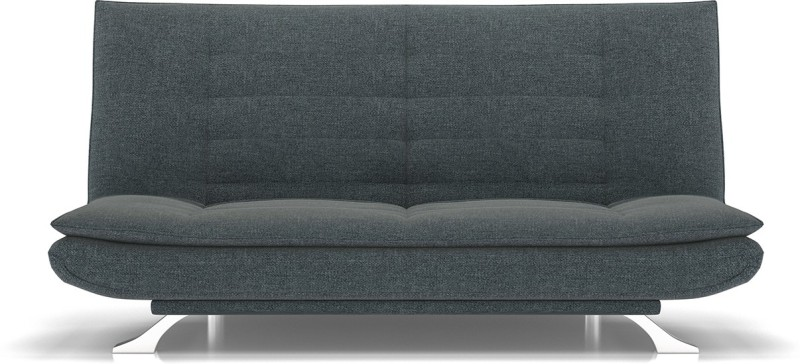 Urban Ladder Edo Sofa Cum Bed Double Engineered Wood Sofa Bed(Finish Color - Grey Mechanism Type - Fold Out)