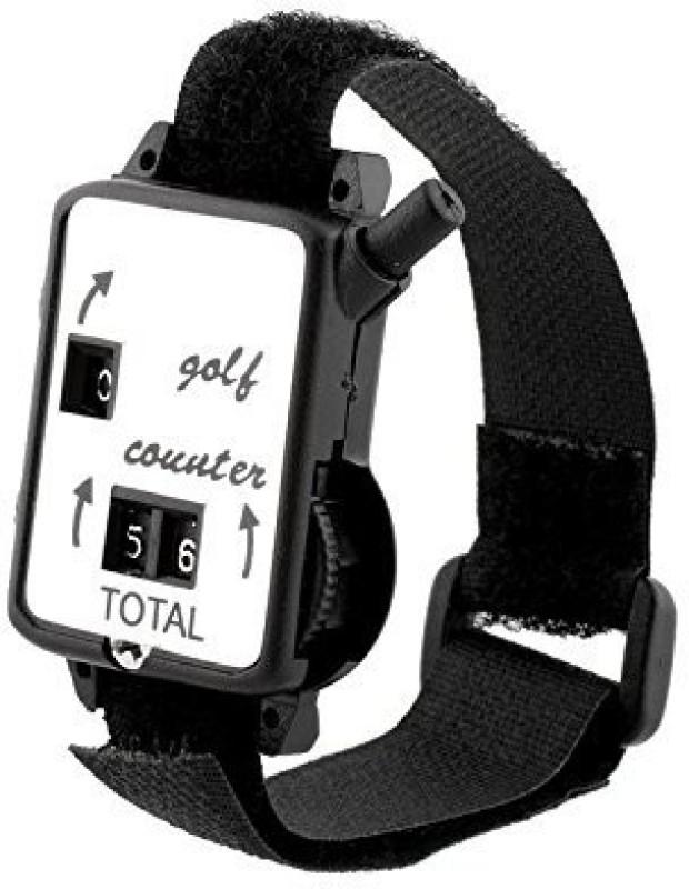Futaba Mini Wristband Golf Stroke Digital Tally Counter(Black Pack of 2)