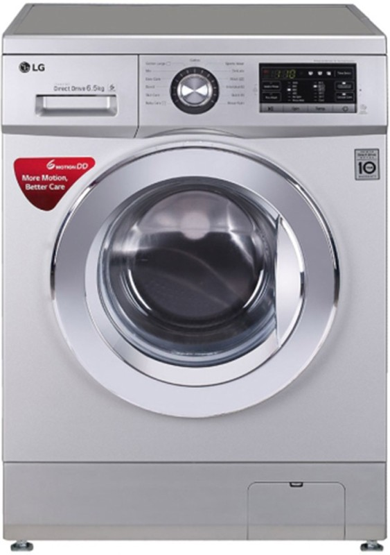 LG 6.5 kg Fully Automatic Front Load Washing Machine Silver(FH0G6WDNL42)