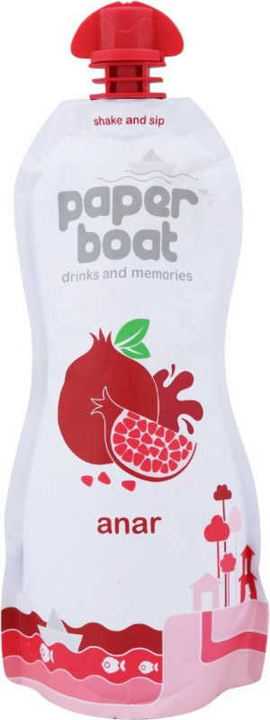 Paper Boat Juice - Anar 200 ml