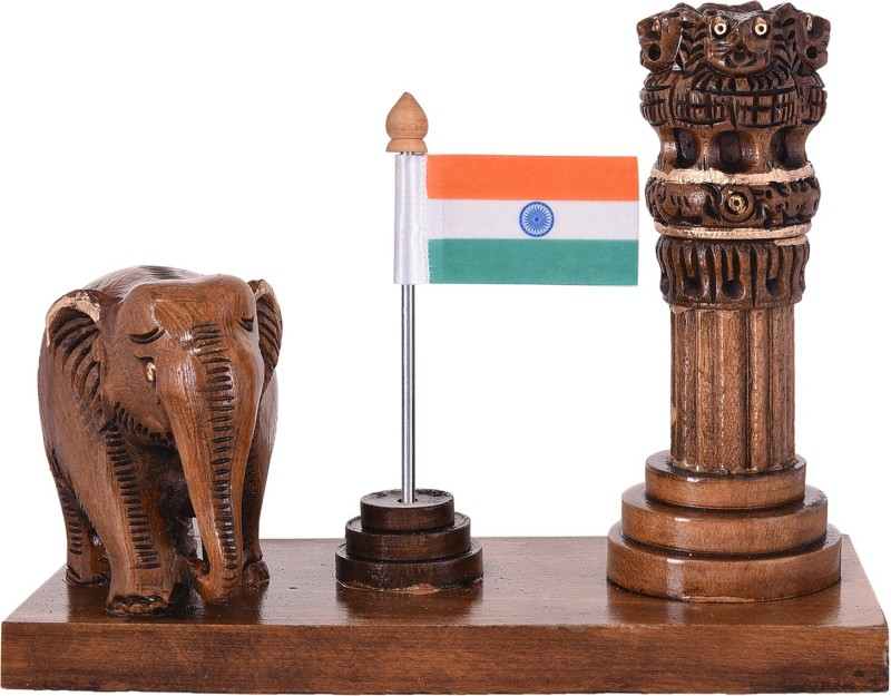 Craft Trade India Square Table Miniature Flag(Plastic)