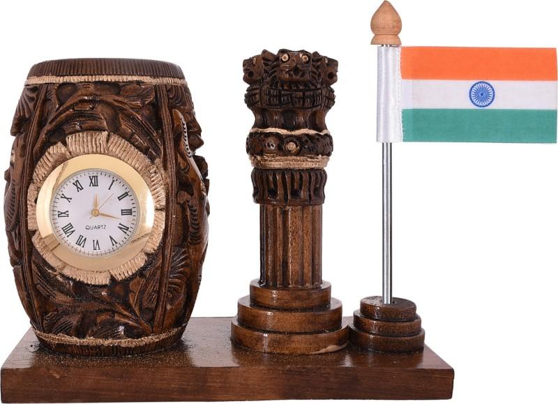 Craft Trade India Square Table Miniature Flag(Plastic)