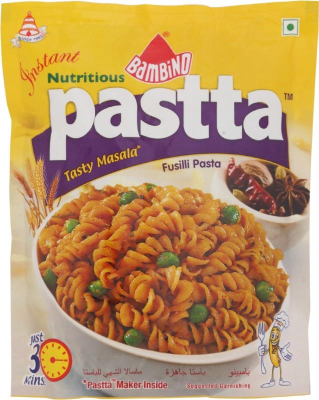 Bambino Instant Masala Fusilli Pasta(65 g)